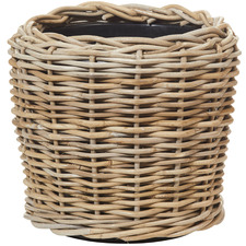 Natural Rattan Pots (Set of 2)