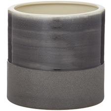 Black Addison Ceramic Pots (Set of 2)