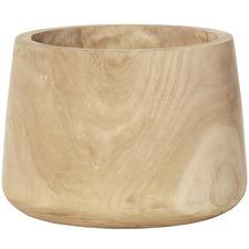 Natural Dansk Wooden Tub Pot
