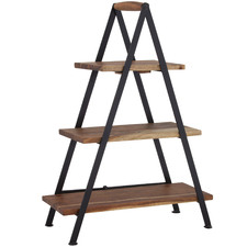 Fani 3 Tier Wooden Serving Stand