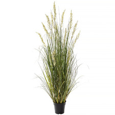 140cm Potted Faux Wetland Grass