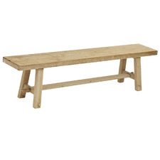 Natural Wooden Dining Bench