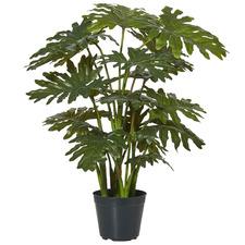 70cm Potted Faux Sellium Philo Plant