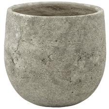 18cm Grey Tub Ceramic Planter