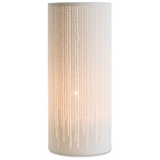 Dots Cylindrical Ceramic Lamp