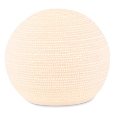 Dots Spherical Ceramic Lamp