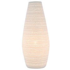 Tall Dots Ceramic Lamp
