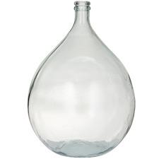 Clear Alicante Glass Fermentation Crocks (Set of 2)