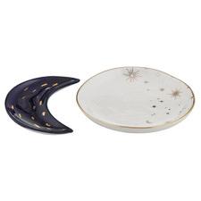 2 Piece Astra Porcelain Trinket Dish Set