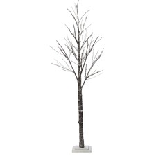 Eco Twig Tree with Snow LED (Set of 2)