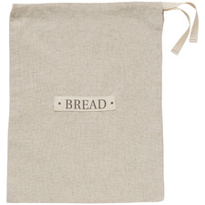Natural Artisan Linen-Blend Loaf Bread Bag