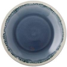 Deep Blue Aquitaine Dinner Plates (Set of 4)