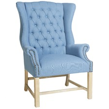 Sky Blue Haven Shelby Chair