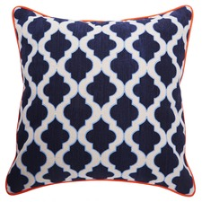 Bermuda Navy/Sky Lantern Cushion