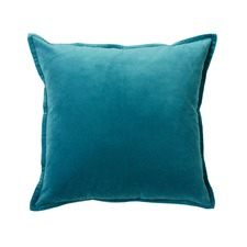 Festival Velvet Teal Cushion
