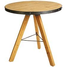Dayton Industrial Lamp Table