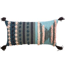 Trove Minty Cotton Cushion