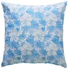 Burleigh Hibiscus Cotton Cushion