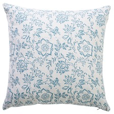 Skye Peony Cotton Cushion