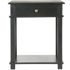 Manto Poplar Wood Bedside Table