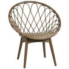 Palm Springs Cane & Rattan Accent Chair