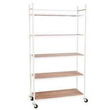 Scout Mango Wood Shelving Unit