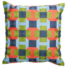 Multi-Coloured Palisades Whitney Cushion