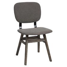 Dark Grey Heimdall Dining Chair
