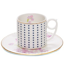 Eclectic Floral Teacup & Saucer (Set of 6)