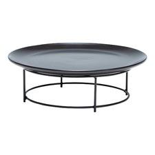 Black Skyline Platter & Stand