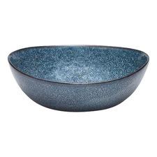 Salt & Pepper Blue Crackle Nomad Bowls (Set of 4)