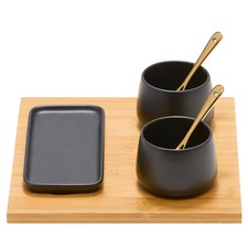 6 Piece Kobe Condiment Serving Set