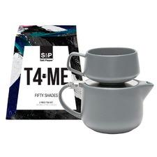 2 Piece Charcoal T4Me Tea Set