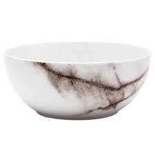 Marbled Porcelain Noodle Bowl (Set of 6)