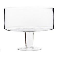 Salt & Pepper Medium Salut Glass Trifle Bowl