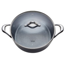 5L Greek Chef Pan & Glass Lid