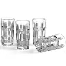Salt & Pepper Bond Highball Glasses (Set of 4)