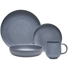 16 Piece Iron Form Porcelain Dinner Set