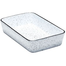 5L Speckle Rectangular Baker
