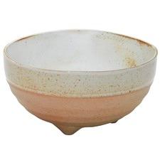 Salt & Pepper White Nomad Footed 14cm Noodle Bowls (Set of 2)