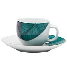 90mL Fleur Espresso Cup & Saucer (Set of 4)