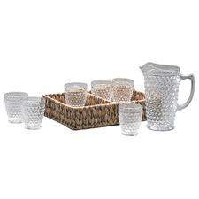 8 Piece Woven Drinkware Set