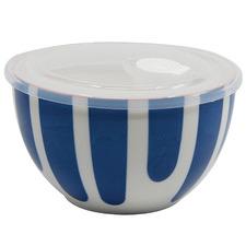 Blue Lunch2Go 15cm Porcelain Bowl with Lid