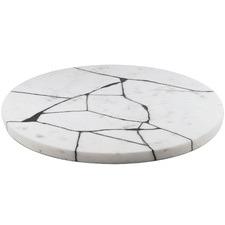 Crackle 30cm Marble Serving Platter