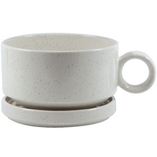 Stone Barista Soup Mug with Lid