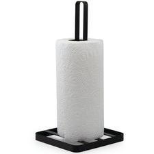 Salt & Pepper Ebony Iron Paper Towel Holder