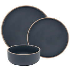 12 Piece Charcoal Hana Dinner Set