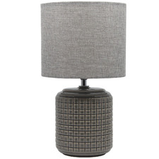 Salt & Pepper Greer Ceramic Table Lamp