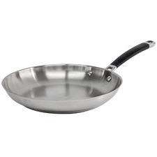 Austenite 27cm Stainless Steel Fry Pan