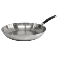 Austenite 31cm Stainless Steel Fry Pan